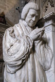 WINCHESTER, HAMPSHIRE/UK - MARCH 6 : Sculpture of Reverend Brown. Low North in Winchester Cathedral in Winchester Hampshire on March 6, 2016 Royalty Free Stock Photo