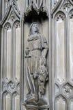 WINCHESTER HAMPSHIRE/UK - MARS 6: Detalj från biskoprävs Ch Arkivbilder