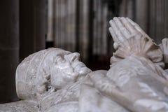 WINCHESTER HAMPSHIRE/UK - MARS 6: Skulptur i den Winchester katten Royaltyfri Bild