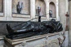 WINCHESTER, HAMPSHIRE/UK - 6 MARZO: Tomba negli angeli custodi Cha immagine stock