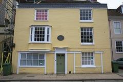 Winchester, Jane Austen dom Zdjęcia Royalty Free