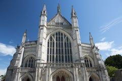 Winchester katedra, Winchester, Hampshire, Anglia Zdjęcia Stock