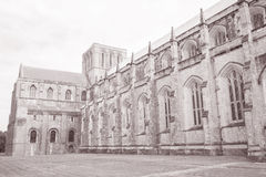 Winchester Katedralny kościół, Anglia zdjęcie royalty free