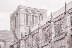 Winchester Katedralny kościół, Anglia obrazy royalty free