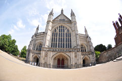 Winchester-Kathedrale lizenzfreie stockfotografie