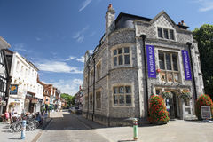 Winchester miasta muzeum, Anglia Obraz Royalty Free