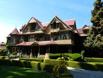 Winchester Mystery House, San Jose, California stock images