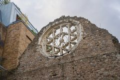 Winchester Palace ruins Royalty Free Stock Photos