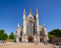 Winchester Cathedral Hampshire South East England UK Stock Photo