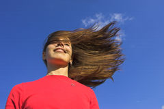 Wind lizenzfreies stockfoto
