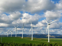 Wind. Power energy alternative generation ,Tarifa,Spain stock photo