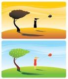 Wind Royalty-vrije Stock Afbeeldingen