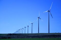 Wind. Turbines Stock Image
