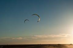 Wind & golven 1 Royalty-vrije Stock Afbeelding