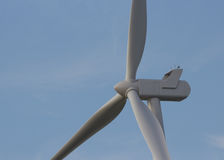 Wind angeschaltene Energie Lizenzfreie Stockfotografie