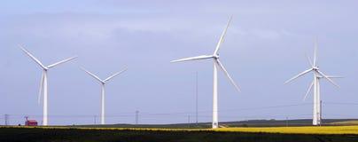 Wind-Bauernhof stockbilder