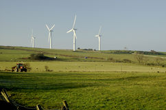 Wind-Bauernhof Stockfoto