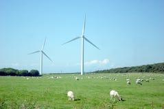 Wind-Bauernhof lizenzfreie stockfotos
