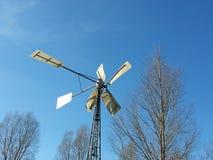 wind in BLEU Stock Afbeeldingen