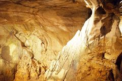 Wind Caves of Borneo. Royalty Free Stock Photo