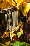 Wind Chime. Hanging in garden Stock Images