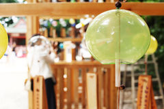 Wind chime Stock Image