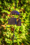 Wind chime. Made of copper antique wind chime Royalty Free Stock Images