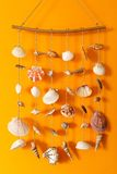 A wind chime with shells Royalty Free Stock Photography