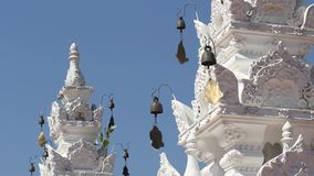Wind chime of Thai traditional temple ,Thailand. Royalty Free Stock Image