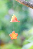 Wind chime. On the tree Royalty Free Stock Photos