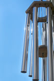 Wind chimes. Against blue sky Stock Photography