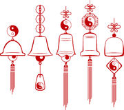 Wind Chimes. Design element Stock Images