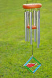 Wind chimes. Hanging from hook Stock Image