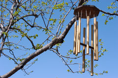 Wind Chimes In Spring Stock Photography