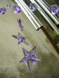 Wind chimes stars. Detail of wind chimes Royalty Free Stock Photos