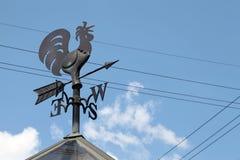 Wind cock sign Stock Photos