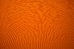 Wind created patterns in the sand dunes of Liwa oasis, United Arab Emirates Royalty Free Stock Image