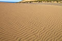 Wind creates interesting drawings in the sand, Sardinia. The wind creates interesting drawings in the sand, Sardinia Stock Images