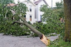 Wind Damage Royalty Free Stock Photos