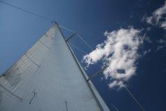 Wind in de zeilen Stock Afbeelding