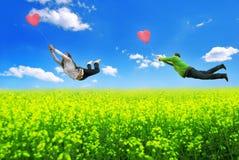 Wind der Liebe Stockbilder
