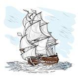 Wind-driven σκάφος Στοκ φωτογραφία με δικαίωμα ελεύθερης χρήσης