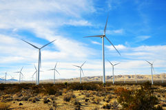 The Wind Driven Generator Royalty Free Stock Photography