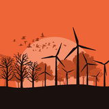 Wind power3 Stock Photography