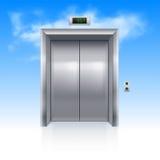 Wind drzwi Obrazy Stock