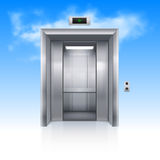 Wind drzwi Zdjęcia Royalty Free