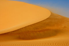 Wind on Dune Stock Image