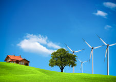 Wind ecology Stock Image
