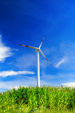 Wind electric generator Stock Photo