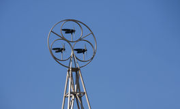 Wind Electricity Generator Royalty Free Stock Photos